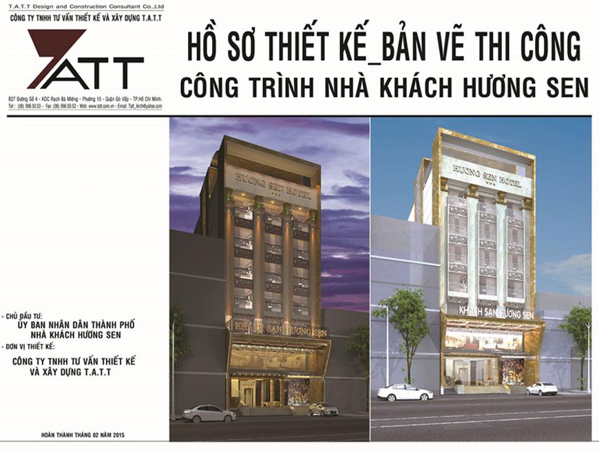 Dự án Khách sạn Hương Sen 3 tại Quận 1 đã bàn giao