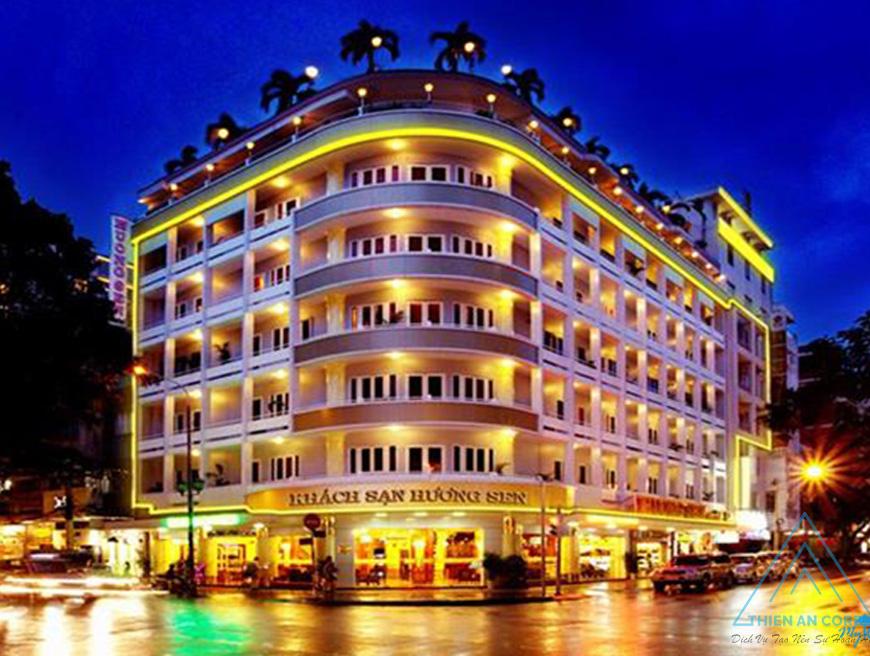 Dự án Khách sạn Hương Sen 1 tại Quận 1 đã bàn giao
