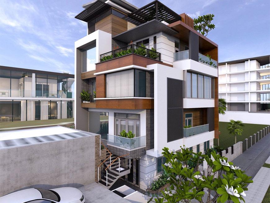 Dự án nhà phố tại Thủ Đức đã hoàn thiện bàn giao