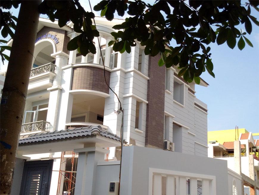 Dự án nhà ở biệt thự tại Thủ Đức đã hoàn thiện bàn giao