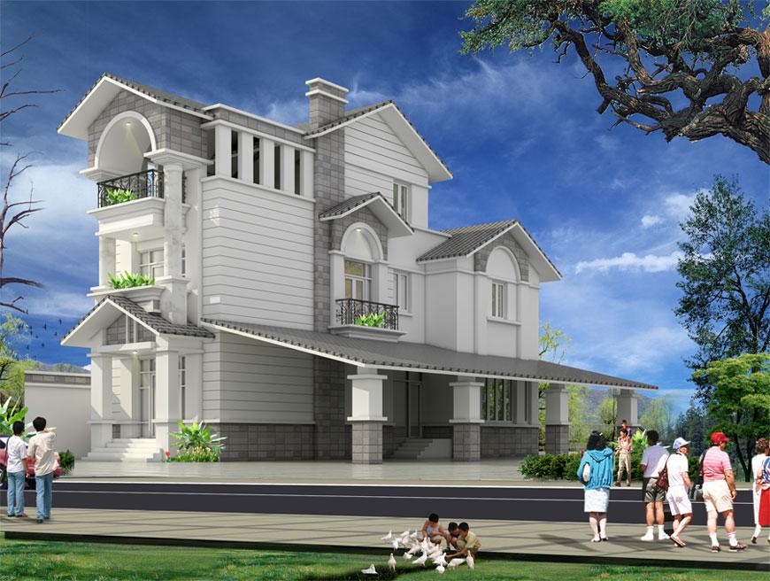 Dự án nhà ở biệt thự tại Đăk Nông đã hoàn thiện bàn giao