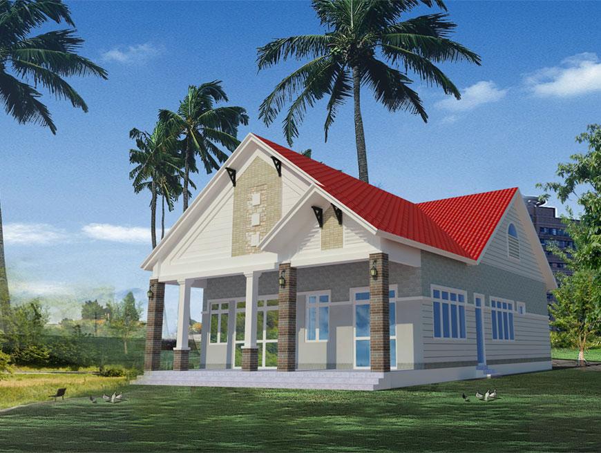 Dự án nhà ở biệt thự tại Củ Chi đã hoàn thiện bàn giao