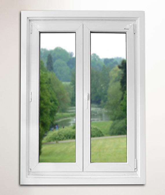 Plastic Windows Turn to Flip Inside